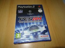 PRO EVOLUTION SOCCER 2014 - SONY PLAYSTATION 2 (PS2) NUEVO PRECINTADO
