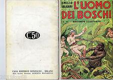 book books emilio salgari racconti illustrati # 39 adventures first edition 1936