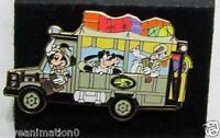 Disney Animal Kingdom Safari Bus Mickey Mouse Goofy Donald Duck  Pin **
