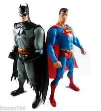 DC DIRECT SUPERHERO ACTION FIGURE SUPERMAN  VS BATMAN PUBLIC ENEMIES HOT TOYS