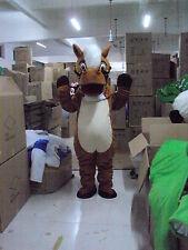 New Brown Horse Mascot Costume Fancy Dress Adult Suit Size R76