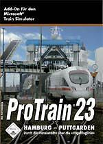 PRO TRAIN 23 Hamburg Puttgarden **** Trainsimulator Neuwertig