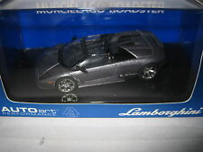 1/43 AUTOart  LAMBORGHINI MURCIELAGO ROADSTER METAL DARK GREY AWESOME MODEL CAR