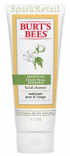 Burt's Bees Organic SENSITIVE Facial Cleanser With Cotton Extract 170g Face Wash