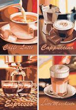 Puzzle 4 x 200 Teile - Kaffeepause (Quattro-Puzzle) von Noris