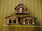 Lot+of+3+VTG+GERMAN+BAROMETER%2FTHERMOMETER+WOODEN+CHALET+WEATHER+HOUSEs+%3E%3E+AS+IS