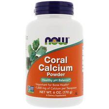 Now Foods Coral Calcium Powder 3000mg 170g - Calcio Corallino in Polvere