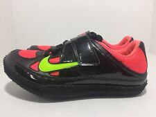 Nike Zoom High Jump Iii 3 Track & Field Black Punch 317645-036 Men's Size 10