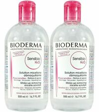 Bioderma Sensibio H2O Micelle Solution 500ml 2 Bottles NEW ON SALE!!