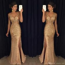 Long Chiffon Evening Dress Wedding Prom Formal Gown Ball Party Cocktail Pageant