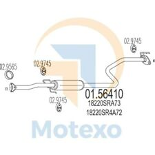 MTS 01.56410 Exhaust HONDA Civic 1.6i 16V 120bhp 01/92 - 12/95