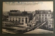 CPA. JUVISY sur ORGE. 91 - La plus grande Gare du Monde. 1920.