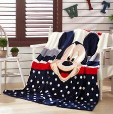 cute mickey cute head coral fleece quilt blanket quilts anime carpet fashion