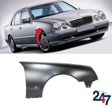 MERCEDES E-CLASS W210 99-2002 FRONT WING O//S RIGHT PAINTED 744 BRILLIANT SILVER
