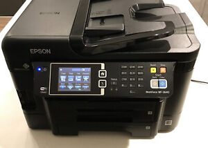 Epson WorkForce WF 3640 All in One Color Inkjet Printer Copier Scanner