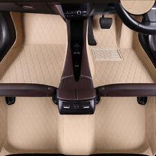Universal 3pcs Custom Duty Durable Car Floor Mats Audi Set Car Van PU Leather
