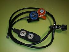 Sherwood OASIS 1st & 2nd Stage Scuba Regulator Octopus with Oceanic Gauges