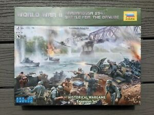 ZVEZDA 1/72 WW II BOARD GAME ART OF TACTICS BATTLE FOR THE DANUBE 1941 F/S 6177