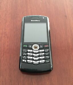 BLACKBERRY 8100 cell phone + Case + Charger + Box + Papers