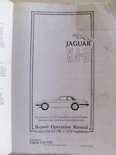 Jaguar XJ-S Repair  Operation Manual Incorporating XJ-S HE, 5.3 & 6.0 Supplement