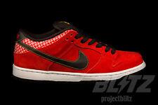Nike Dunk Low Premium SB FIRECRACKER Size 8.5 CHALLENGE RED 313170-602