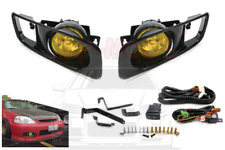 Honda Civic 99-00 Yellow Fog Light Lamp 2/3/4 dr EK/EM/EJ9/EK3/EK4 (FACELIFT)