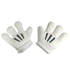 Cartoon Mouse Hands Large Padded Gloves Mickey Fancy Dress