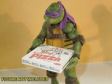 One Easy Fold Sdcc Ninja Pizza Box for 7 Inch Teenage Mutant Ninja Turtles Tmnt