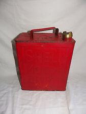 Antike Shell Öldose Oel Petroleum Kanne Kanister - 1939 - Oldtimer Deko