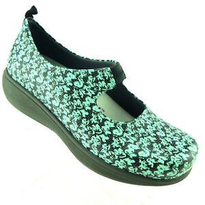 Grey's Anatomy by SoftWalk Women's Shoes US 8 Miranda Mary Jane Mint Green Black