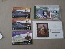 Isle of Man 1995-2003 5 Po Fresh Booklets fromDealer Stock Cv$69+