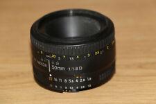 Nikon  50mm f/1.8D Auto Focus Nikkor Lens  Prime Lens Great Kit Bag Lens
