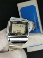 Rare Casio Vintage Digital Watch 80s 1984 DB-500 NOS BOX 262 MANUAL RETRO LCD