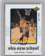 Cromos de baloncesto de coleccionismo Kobe Bryant, NBA