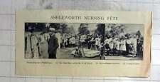 1926 Ashlworth Nursing Fete Mrs Meath Baker, Rev Hm Niblett Wooden Horse