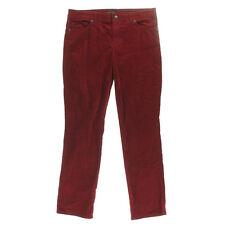 NEW Womens Stunning Tommy Hilfiger Biking Red Straight Leg Corduroy Pant AU8 W26