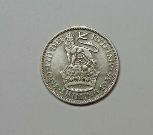 GREAT BRITAIN : SILVER SHILLING 1936. 0.500 SILVER.  KM 833.