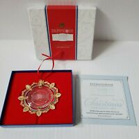 Christmas 2002 The White House Historical Association Ornament + Box & Paperwork