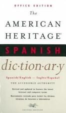 The American Heritage Spanish Dictionary : Office Edition (2000, Paperback)