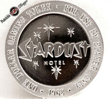 $1 FULL PROOF SLOT TOKEN STARDUST CASINO 1968 FRANKLIN MINT LAS VEGAS COIN NEW