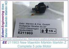 EE 211903 NEW Maerklin Märklin Marklin  Z Complete Motor 5 pole MiniClub