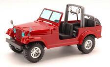 Jeep Wrangler 1:24 Nero Burago Bu22033R Modellino Diecast