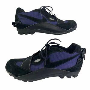 Nike ACG Cycling Shoes Men's US 10 EUR 44 Purple Black 90s 184014 Biking