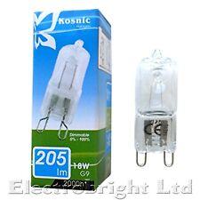 1 x KOSNIC G9 18w=25w DIMMABLE ECO  Halogen bulbs clear 18 Watt Safety fused