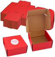 Small Mailing Boxes 4 X 4 X 2 Shipping 25pcs Corrugated Cardboard Box Mailers