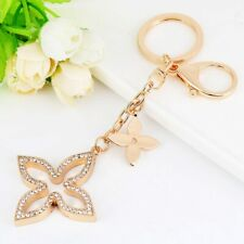 Keychain Bag Charm Purse Chain Flower Ring Crystals Auto Keys Creative Pendant