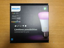 Philips - Hue White & Color Ambiance A19 Bluetooth Led Smart Bulbs 3-Pack (Used)