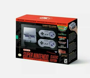 Super Nintendo NES Classic Edition Mini Console Brand New in Stock Entertainment