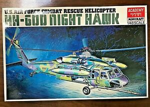 SIKORSKY HH-GOD NIGHT HAWK COMBAT RESCUE HELICOPTER - ACADEMY 1/48 PLASTIC KIT