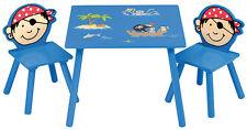 4Uniq Kindersitzgruppe Pirat Tisch + Stühle Kindermöbel Kinderzimmer Einrichtung